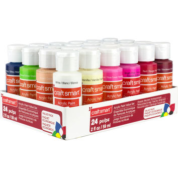 Craft Smart™ Acrylic Paint Value Set