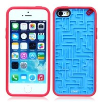 Toch TM Retro Maze Game Puzzle Hard PC Case Cover For iPhone 5 iPhone 5s