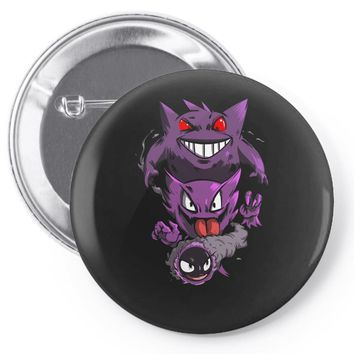 pokemon the ghost Pin-back button