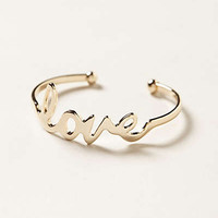 Anthropologie - Love Note Cuff