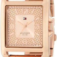 Tommy Hilfiger Women's 1781196 Rose Gold-Plated Stainless Steel Watch