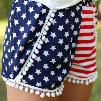 Festive Fourth Shorts