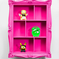 Baroque Wall Shelf in Pink - Urban Outfitters