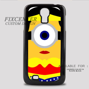 WONDER WOMAN MINION - Samsung Galaxy S4 Case