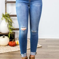 Sneak Peek-Casey Distressed Skinny