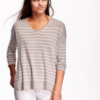 Old Navy Womens Lightweight V Neck Sweater
