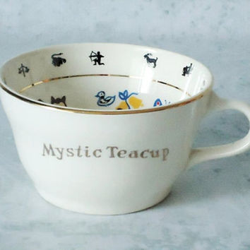 Mystic Fortune Telling Teacup -- 1949 Fortune Telling Cup