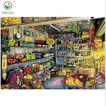 5D Diamond Painting Mosaic diy grocery store