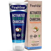 Charcoal Teeth Whitening Toothpaste - Made in USA