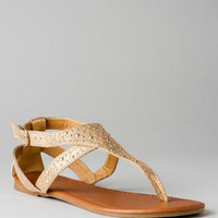 SUMMER NIGHT STUDDED SANDAL