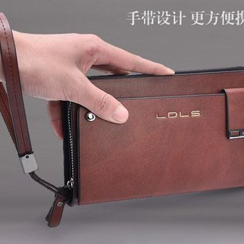YESETN bag hot sale best seller good quality man clutch male fashion hand bag men wallet