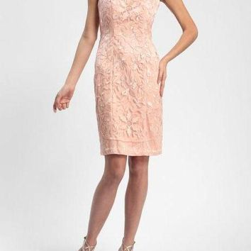 Sue Wong Short Cocktail Dress Semi-Formal