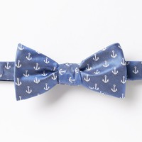 Chaps Shipbottom Anchor Self-Tie Bow Tie - Men, Size: One
