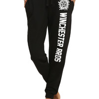 Supernatural Winchester Bros Girls Pajama Pants