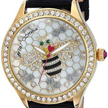 Women's Bee Watch Betsey Johnson Water resistant to