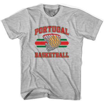 Portugal 90's Basketball T-shirts-Adult