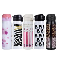 500ML Travel Mug Stainless Steel Coffee Tea Vacuum Insulated Thermal Cup Bottle Drinkware Winter Bottle
