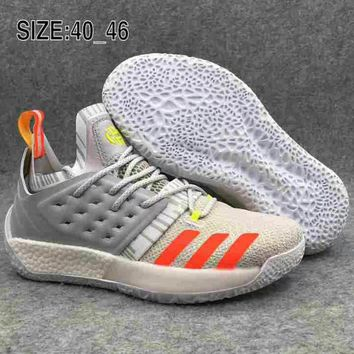 newest 7a864 435ad Adidas Harden Vol.2 BOOST Harden 2 combat wearable breathable ba