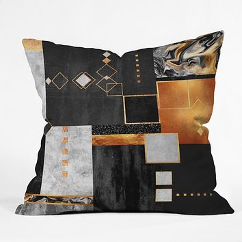 Elisabeth Fredriksson Construction Throw Pillow
