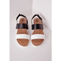 Sport Lux Sandal Black - Shoes - Sandals - Missguided