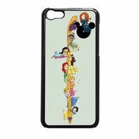 Princess Belle Disney And Tattoo iPhone 5c Case