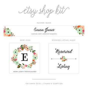 Etsy Shop Kit | Emma