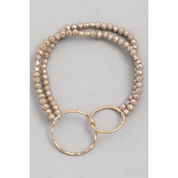 Like A Dream Bracelet - Taupe