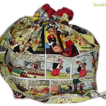 NEW Popeye the Sailor Man Project Bag