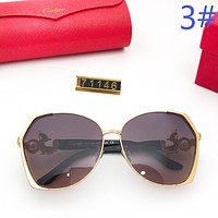Cartier Women Fashion New Polarized Sunscreen Travel Eyeglasses Glasses