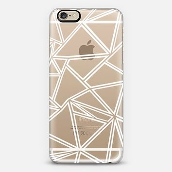 Shattered Ab Zoom Transparent iPhone 6 case by Project M | Casetify