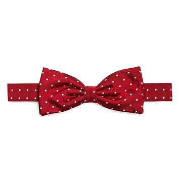 Dot Pre-Tied Bow Tie - Brooks Brothers
