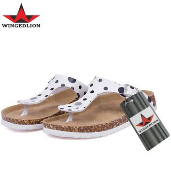 WINGEDLION 2017 hawaiian massage shoes which is sexy guest slippers hawaiian flip flops Shoes Beach Shoes, cheap women  shoes