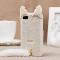 2013 new model cute iphone 5 cover ,iphone 5 case ,white