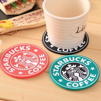 Silicone Dining Table Coaster Coffee Cups - Free Shipping