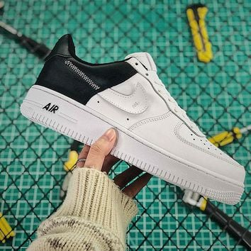Nike Air Force 1 Low All Star Black White Sport Running Shoes  - Best Online Sale