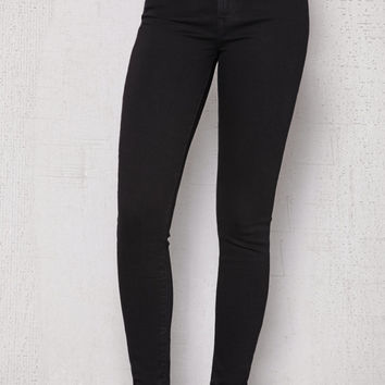 Levi's 721 Black High Rise Skinny Jeans at PacSun.com