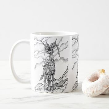 King of cliffs coffee mug
