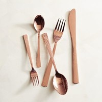 Emery Copper 20-piece Flatware Set