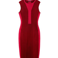 Narciso Rodriguez Berry Knit Dress - Body Con Dress - ShopBAZAAR
