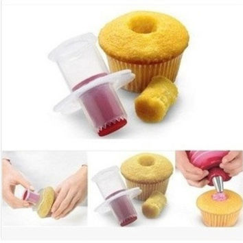 Brand New Eco-Friendly Cake Tools Cupcake Plunger Cutter Creative DIY Cake Corer Decorating Divider = 1668786564