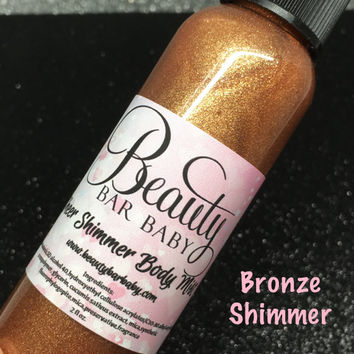 Bronze Shimmer Sheer Shimmer Body Mist