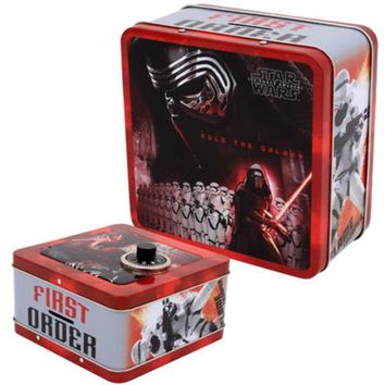 Star Wars Episode 7 Penny Bank with Combination Lock - CASE OF 12