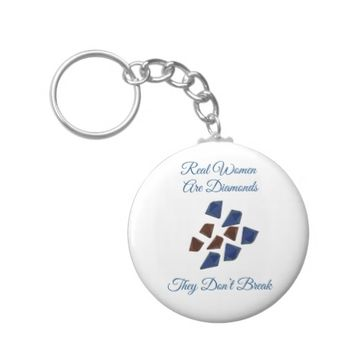Women Are Diamonds Keychain