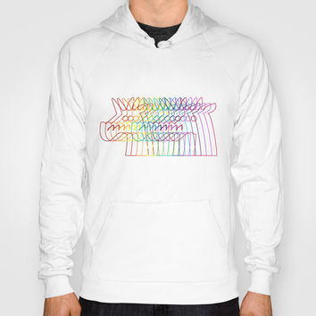 Rainbow Stroke Unicorn Hoody by That's So Unicorny
