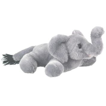 "7"" Elephant Finger Puppets Stuffed Animals Conservation Collection"