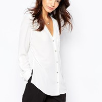 New Look | New Look - Chemise col V chez ASOS