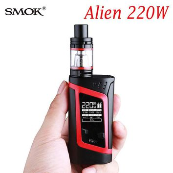 Hot Original SMOK Alien 220W Electronic E Kit Cigarette Big Breath 3ml Baby Tank