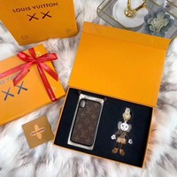 Louis Vuitton LV x Kaws Key Holder and iPhone case