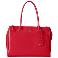 Kate Spade PXRU5133-616 Women's Cedar Street Patent Reena Dynasty Red Leather Shoulder Bag