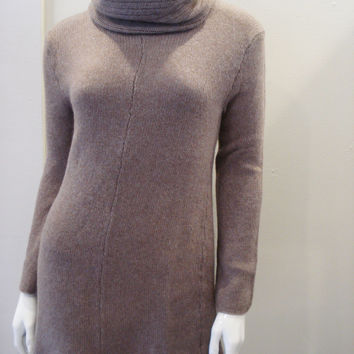 souchi flare cashmere turtleneck sweater